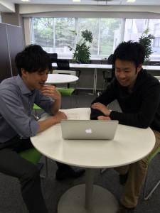共同代表の 影山さん(左) 羽田野さん(右)