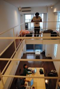7月頭に入居したてのオフィス。銀座・歌舞伎座に近い。